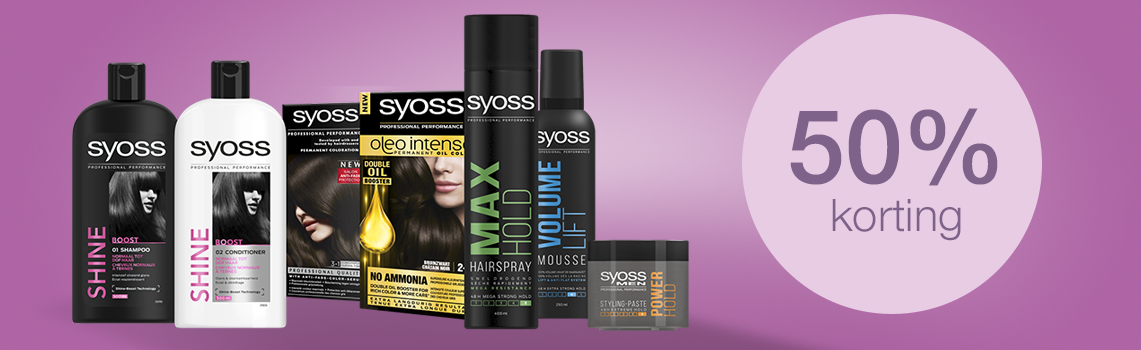 Syoss productassortiment